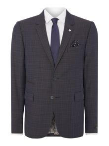 Roibos Slim Fit Fleck Texture Suit