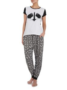 Therapy Sleep Racoon Print Range