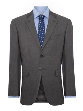 Howick Tailored Derry Notch Lapel Pindot Suit