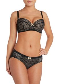 Heidi Klum Intimates Leise black range