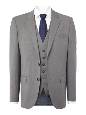 Tommy Hilfiger Butch Textured Three Piece Suit