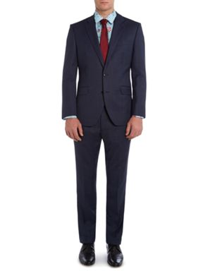 New & Lingwood Plyton Birdseye Tailored Suit