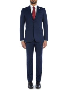 Ted Baker Fashdog Extra Slim Plain Slim Fit Suit