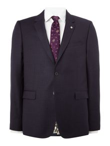 Ted Baker Gentel Mini Grid Slim Fit Suit