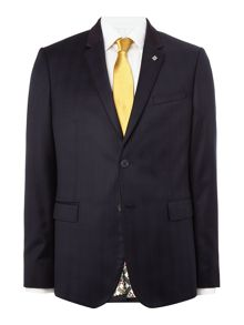 Ted Baker Uncoot Satin Check Suit