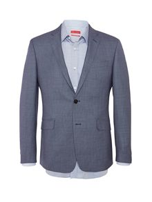 Richard James Mayfair Birdseye Single Breasted Suit