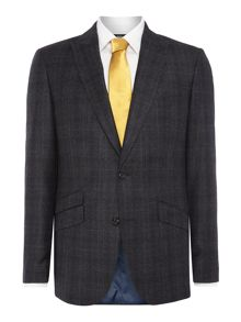 Simon Carter Single Breasted Pow Flannel Suit