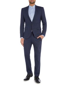 Selected Homme Navy Milo Gib Suit