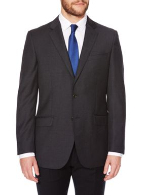 Simon Carter Explorer Regular Fit Charcoal Suit