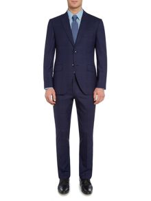 Corsivo Bolva peak lapel check suit