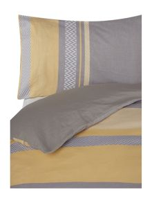 Living by Christiane Lemieux Citrine Chevron bed linen range