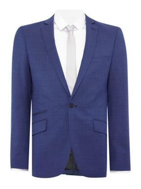 Kenneth Cole Julian Slim Fit Pindot Suit