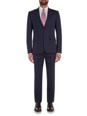 Ted Baker Restor Slim Tonal Check Suit