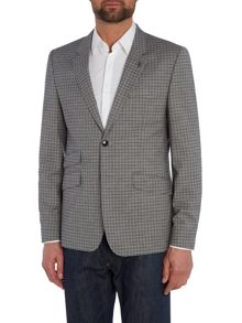 Ted Baker Tench Slim Grey Check Suit