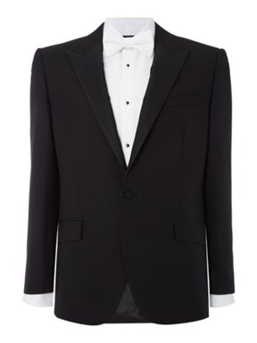 New & Lingwood Marlow peak lapel dinner suit