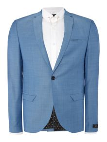 Label Lab Terrell notch lapel textured suit