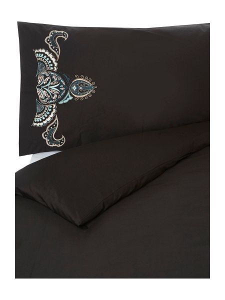 Biba Teal Embroidery Bed Linen Range