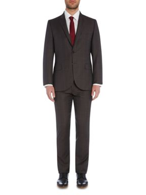 PS By Paul Smith Notch Windowpane Check Suit