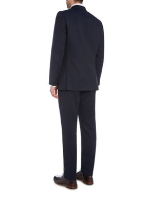 PS By Paul Smith Notch Broken Stripe Suit