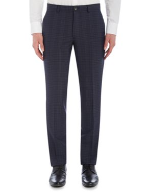 PS By Paul Smith Blue Notch Check Suit