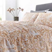 Living by Christiane Lemieux Citrine Bird print bed linen