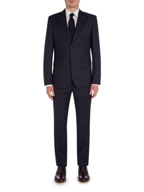 Ted Baker Arjun Bold Check Three-Piece Suit