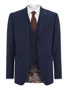 Ted Baker Bob Texture Three-Piece Suit