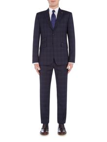 Ted Baker Bronjak Check Three-Piece Suit