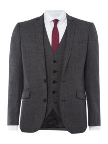 Kenneth Cole Parsons Slim Fit Textured Suit