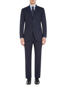 Howick Tailored Oakland Textured Stripe Suit