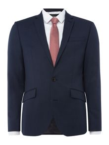 Kenneth Cole Rivington Slim Fit Birdseye Suit
