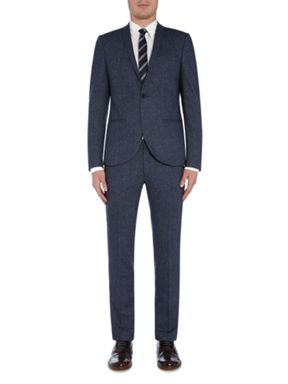 Viggo and Magnus Blue Flecked Skinny Suit