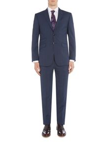 Ted Baker Notch Lapel SB2 Check Suit