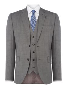 Howick Tailored Wells Slim Fit Sharkskin Suit