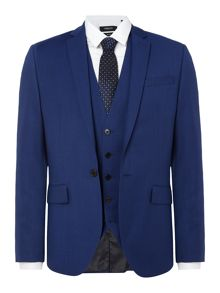 Kenneth Cole Hylan Slim Fit Pindot Suit