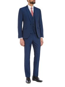 Kenneth Cole Robinson Linen Look Slim Fit Suit