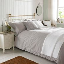 Emma Bridgewater Embroidered bed linen range in Natural