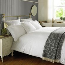 Emma Bridgewater Embroidered bed linen range in White
