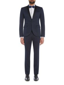 Label Lab Angus Textured Skinny Suit