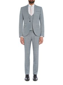 Label Lab Syd Check Skinny Suit