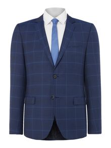 Hugo Windowpane Check Suit