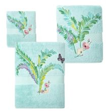 Yves Delorme Evasion bath towel and mat range