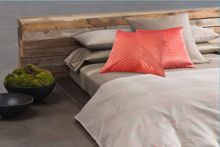 Zahara neutral bed linen range