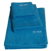 Hugo Boss Plain Bath Towel & Mat Range