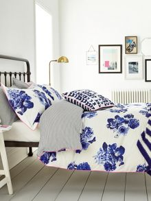 Butterfly floral bed linen range
