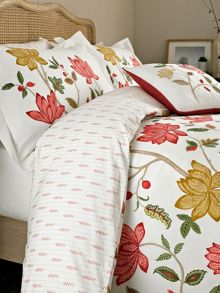 Sanderson Pondicherry bed linen range