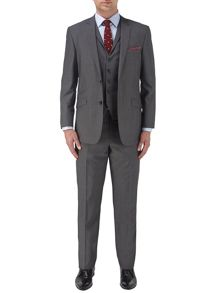 Egan suit in charcoal