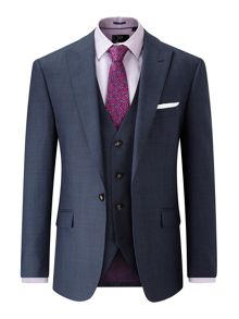 Skopes Frazier 100% Wool Tailored Fit Suit