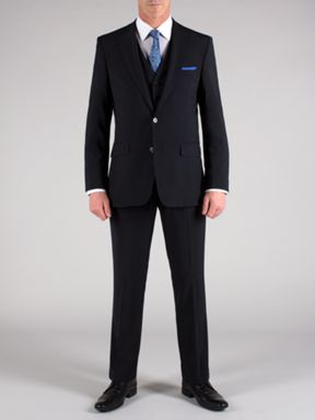 Alexandre of England Tailored plain navy suit