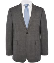 Regular Fit Prince Of Wales Check Suit